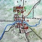 American Civil War Town - Perryville Ky Art Print