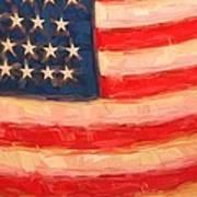 American Colours Art Print