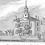 American Courthouse, 1844 Art Print