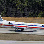 American Eagle ERJ-145LR Art Print