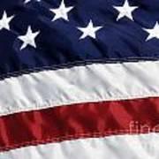 American Flag Art Print by Jill Lang