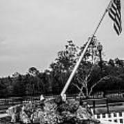 American Flag Monument Art Print