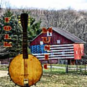 American Folk Music Art Print