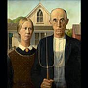 American Gothic Duvet Art Print