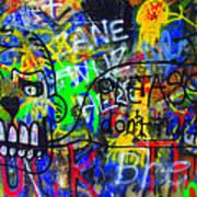 American Graffiti 15 - Crack Head Art Print