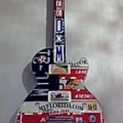 American Guitar Art Print