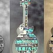 American Guitars 5 Art Print