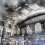 American Haunting Union Station Denver Colorado Art Print
