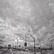 American Highway Art Print