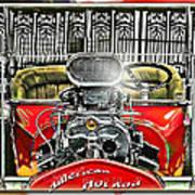 American Hot Rod Art Print
