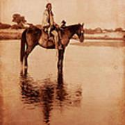American Indian Chief Cheyenne Art Print