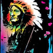 American Indian Silo Art Print