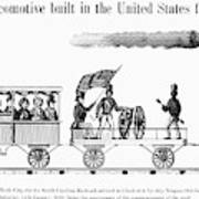 American Locomotive, 1830 Art Print