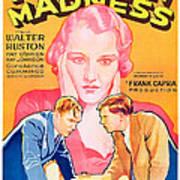 American Madness, Background, Kay Art Print
