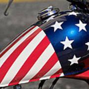 American Motorcycle Art Print