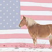 American Palomino Art Print