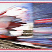 American Rail Art Print