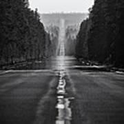 American Road Trip Art Print