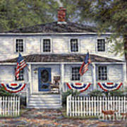 American Roots Art Print by Chuck Pinson