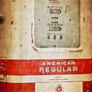 American Standard - Vintage Fuel Pump - Casper Wyoming Art Print