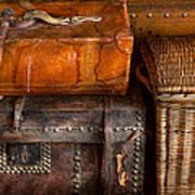 Americana - Emotional Baggage  Art Print by Mike Savad