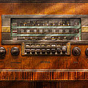 Americana - Radio - Remember What Radio Was Like Art Print