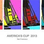 America's Cup Poster 3 Art Print