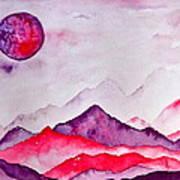 Amethyst Range Art Print