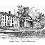 Amherst College - Chapel And Dormitories Art Print