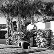 Amir Drive Bw Marrakesh Palm Springs Art Print