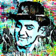 Amir Khan Dhoom 3 Pop Art By Minesh Pankhania Art Print