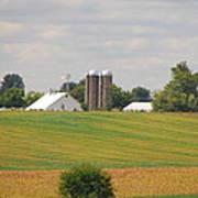Amish Farm 2 Art Print
