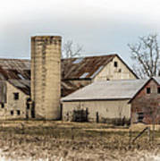 Amish Farm In Etheridge Tennessee Usa Art Print by Kathy Clark