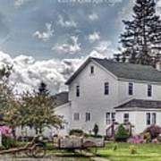 Amish Homestead Art Print