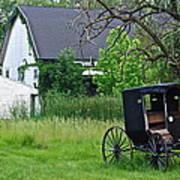 Amish Way Of Life Art Print