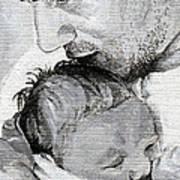 Amit And Mika Art Print