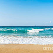 Amnissos Beach Art Print