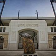 Amon G Carter Stadium At Tcu Art Print