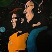 Among Stars Art Print