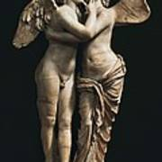 Amor And Psyche. 1st C. Hellenistic Art Print