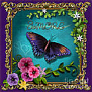 Amore - Butterfly Version Art Print