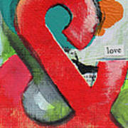 Ampersand Love Art Print