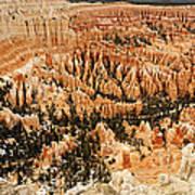 Amphitheatre At Bryce Canyon Art Print