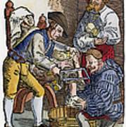 Amputation, 1540 Art Print