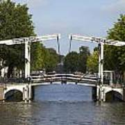 Amsterdam - Drawing Bridge Art Print