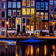 Amsterdam At Night IIi Art Print