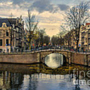 Amsterdam Bridges Art Print