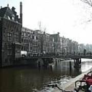Amsterdam Canal II Art Print