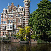 Amsterdam Canal Mansions - The Dainty Tower Art Print