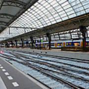 Amsterdam Central Station Art Print